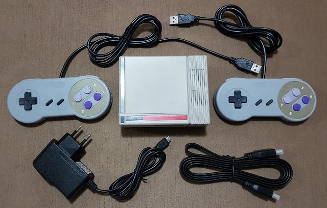 Kit NES com Raspbarry - com mais de 10 mil jogos inclusos!