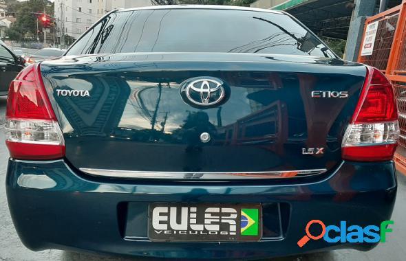 TOYOTA ETIOS X SEDAN 1.5 FLEX 16V 4P AUT. AZUL 2017 1.5 FLEX
