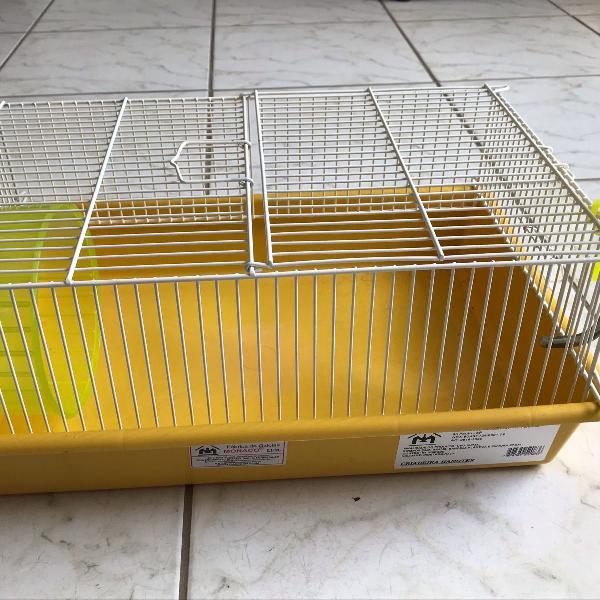 gaiola de hamster + bebedouro