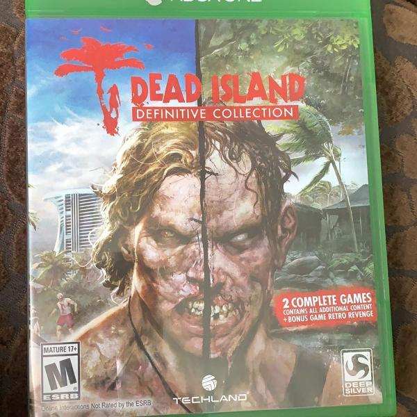 jogo original do xbox one dead island