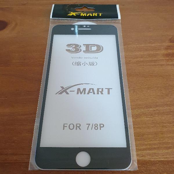 película de vidro iPhone 7 ou 8Plus