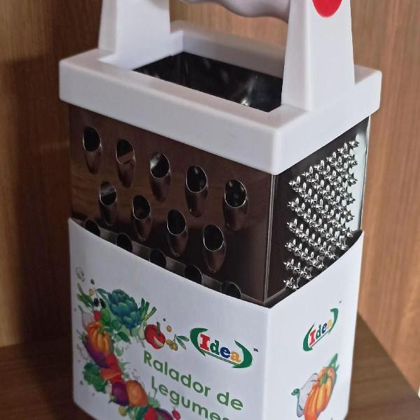 ralador de legumes inox ( 4 faces)