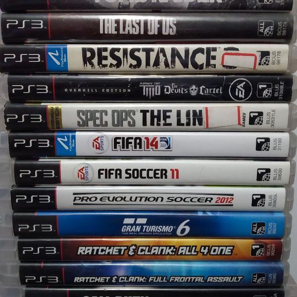 12 Jogos de PS3