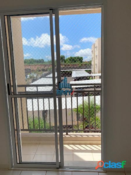 Alugo apartamento no Residencial Ímola, contendo 2