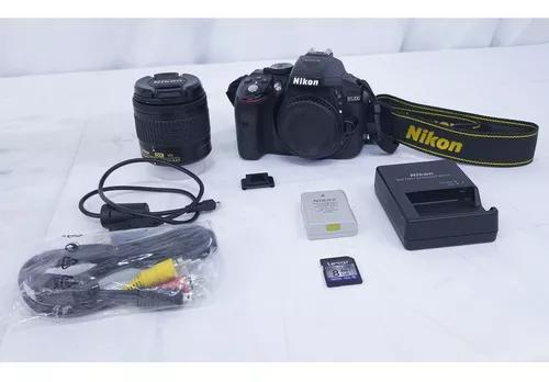 Camera Nikon D5300 + Sd 8gb