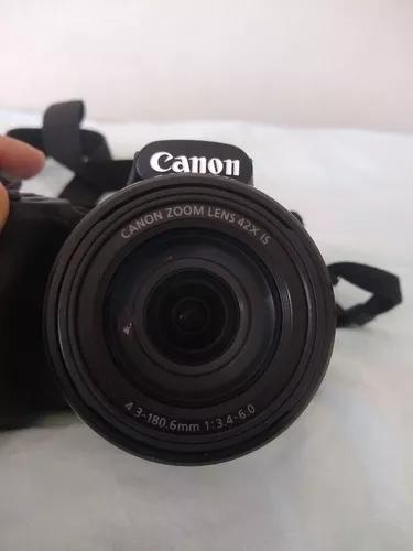 Câmera Canon Powershot Sx520 Hs Muito Nova, Todos