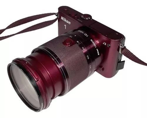 Câmera Digital Nikon 1 J3 Para Retirada De Peças