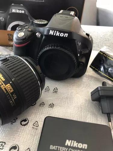 Nikon: Câmera Nikon D5200 Kit 18-55 Vr Ii