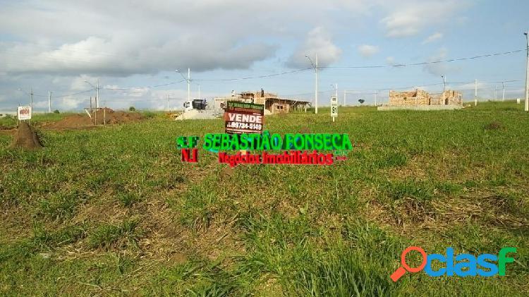 Terreno de esquina Condomínio Reserva Aruanã em São
