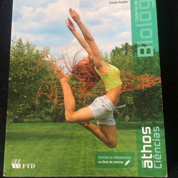 caderno de biologia projeto athos -ftd