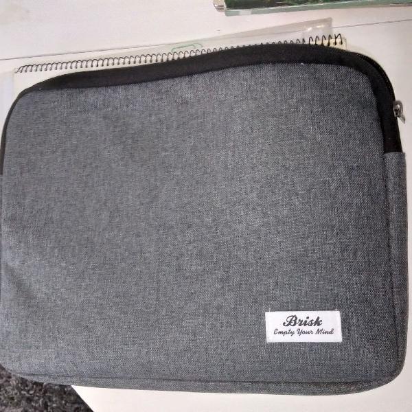 "capa pasta para notebook ou tablet até 13"""