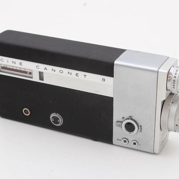 câmera antiga cine canonet 8
