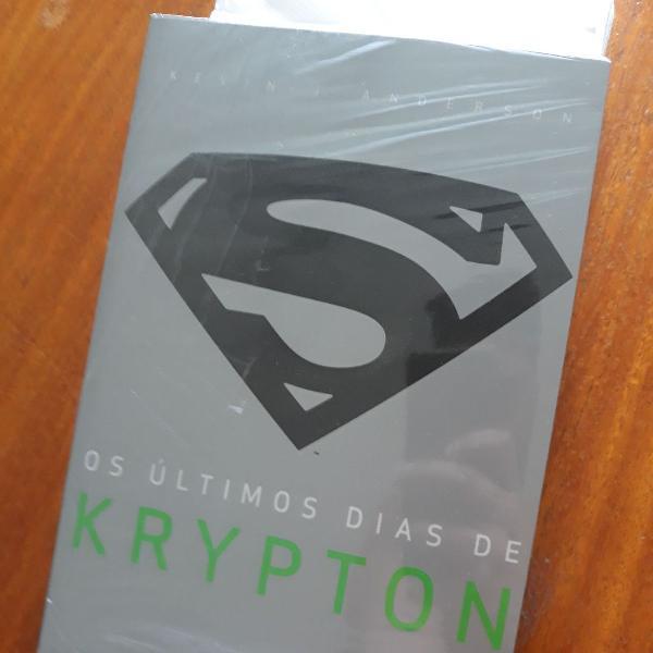 livro - os últimos dias de krypton