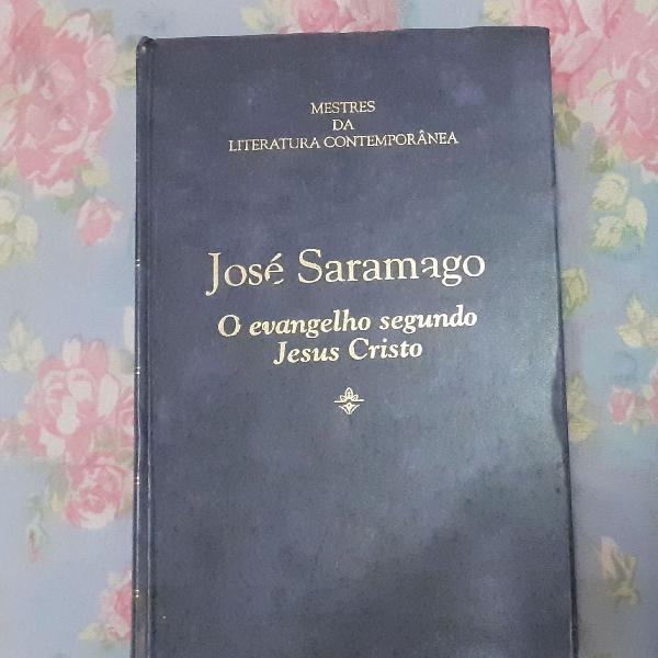 livros José Saramago, jangada de pedra e o evangelho