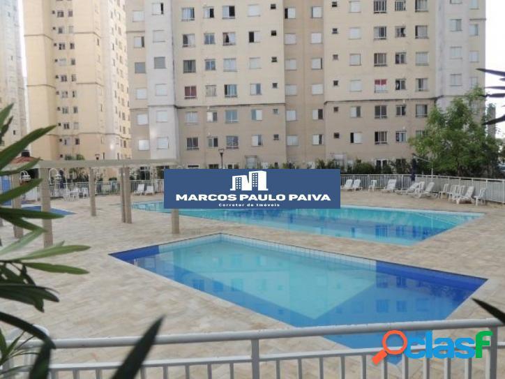 Apartamento no Único com 45 m² 2 dorms 1 vaga na Ponte