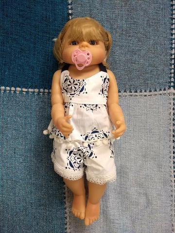 Boneca Bebê Reborn Princesa Victoria