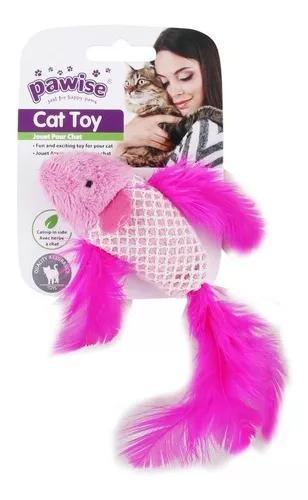 Brinquedo Peixe Para Gato 100% Catnip Pawise