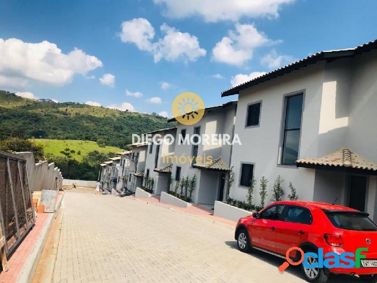 Casas á venda em condomínio em Atibaia - Aceita