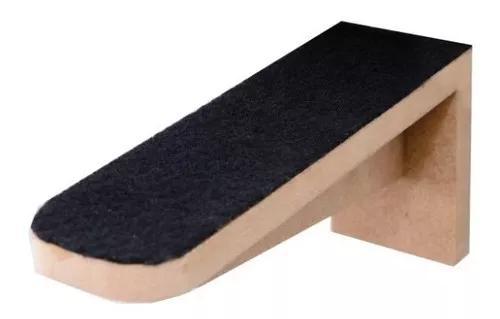 Kit 6 Degraus Para Gatos Com Carpete - Mdf