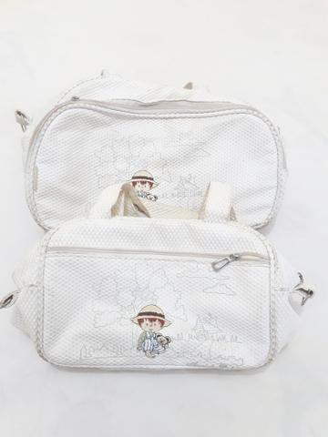 Kit com 2 bolsas maternidade.