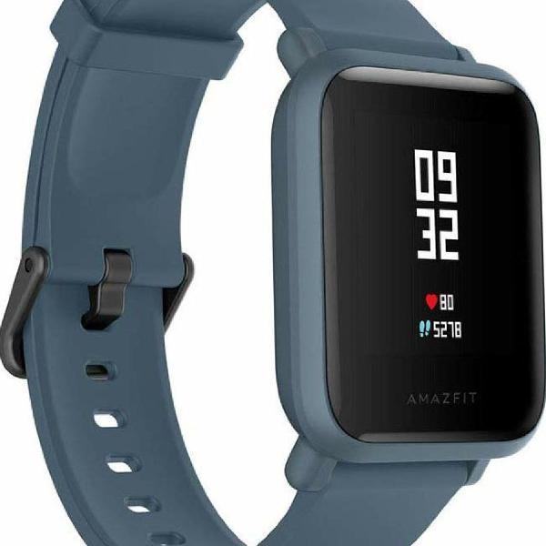 Relógio Smartwatch Xiaomi Amazfit Bip Lite Azul NOVO e