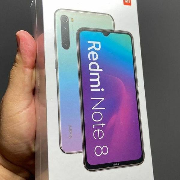 Smartphone Xiaomi Redmi note 8 64GB 4GB RAM Preto Versão