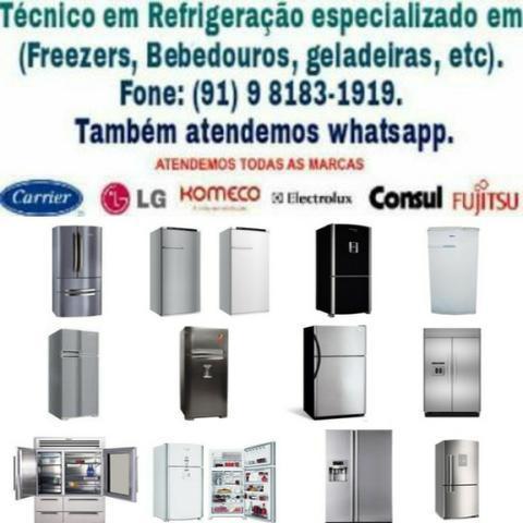 Assistência Refrigeração (Trabalhamos com Geladeiras e