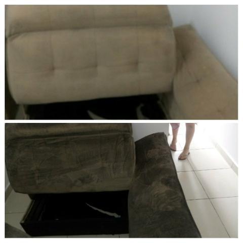 Limpeza de sofá e estofados em geral