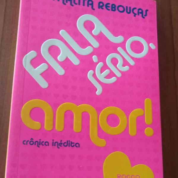 Livro fala sério, amor! Thalita Rebouças