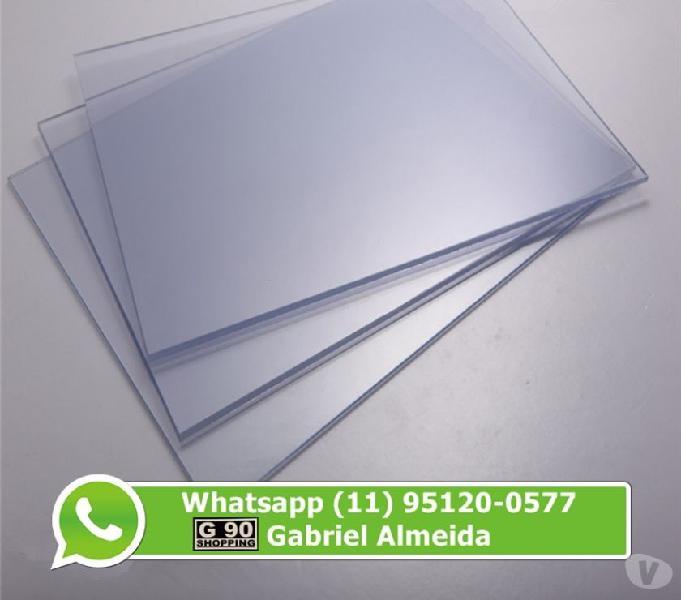 Placa Acrilico 2mm por R$198,00