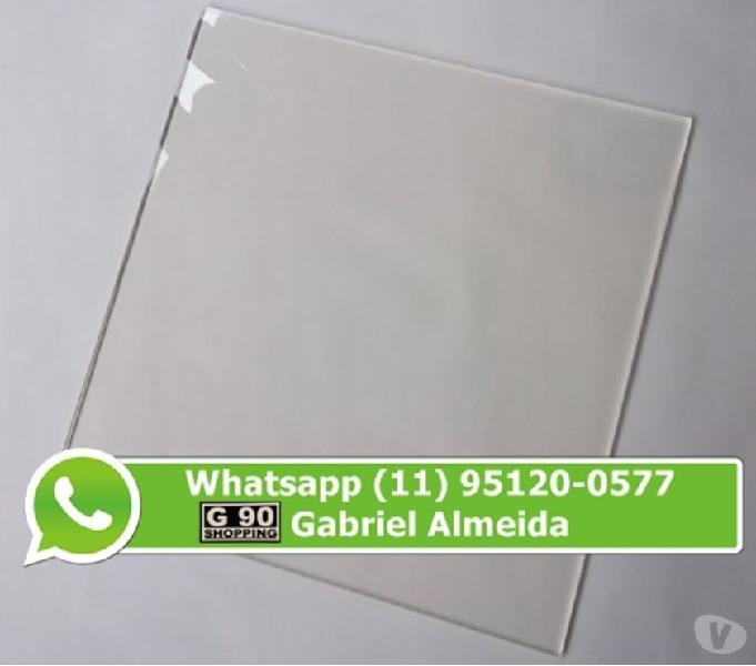 Placa Acrílico Transparente 2mm 198 reais