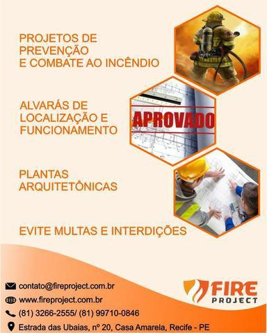Projetos de Prevenção e Combate ao Incêndio