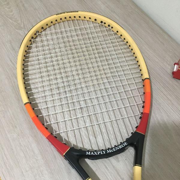 raquete de tênis dunlop modelo maxply mcenroe