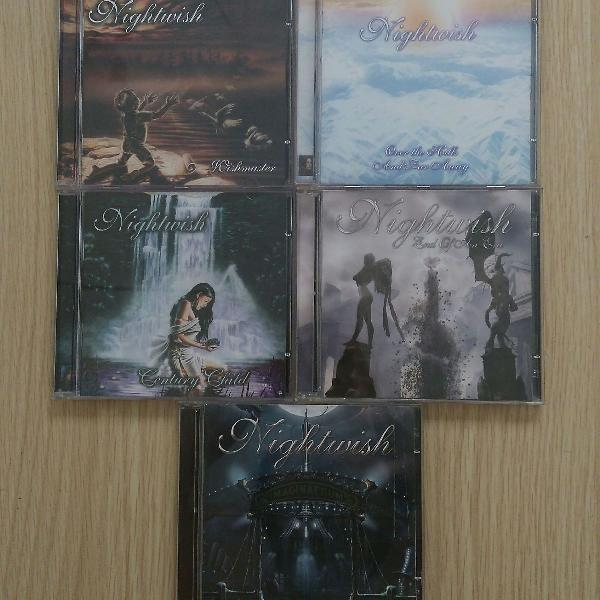 5 CDs Nightwish