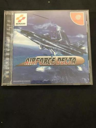 Airforce Delta Para Dreamcast Japonês Na Caixa Com Manual