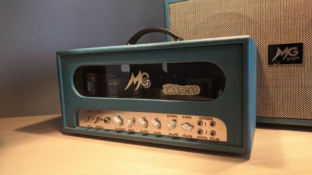 Amplificador Valvulado MG Music Fillmore 40w / Fender