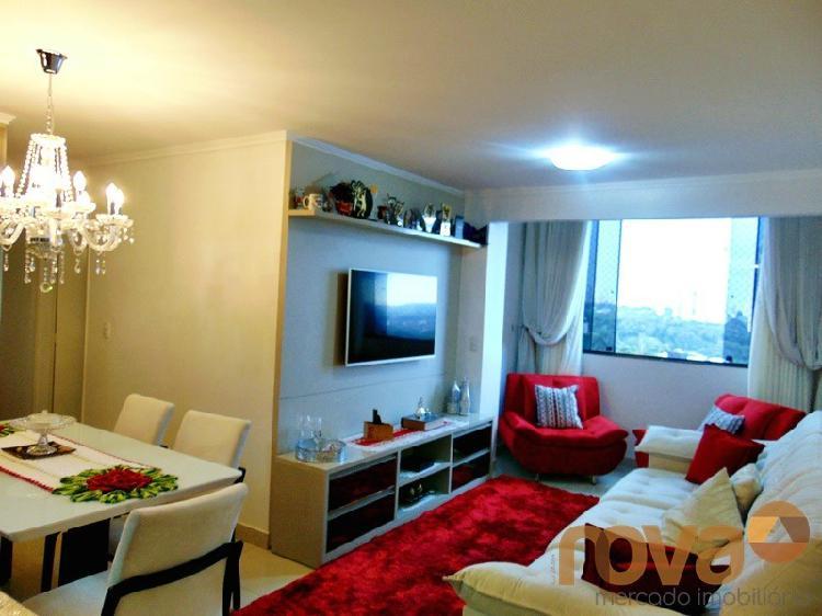 Apartamento 3 quartos, 1 suíte - Nascente - Setor Pedro