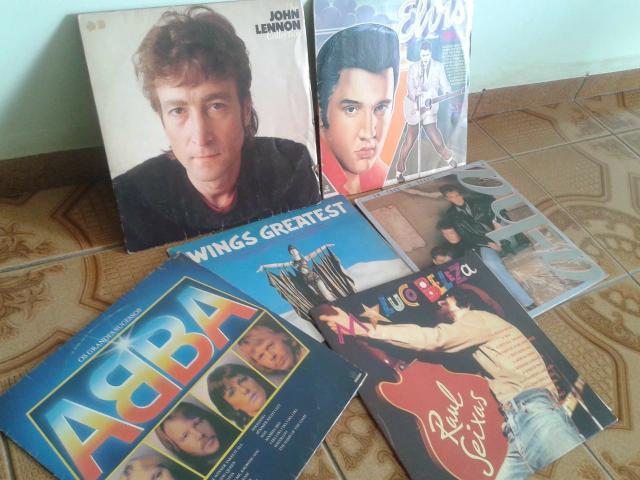 Clássicos dos anos 60, 70 e 80 em discos de Vinil - Pra