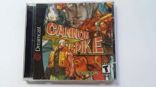 Jogo De Dreamcast Cannon Spike (patch)