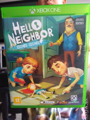 Jogo Hello neighbor para Xbox one R$ 80,00