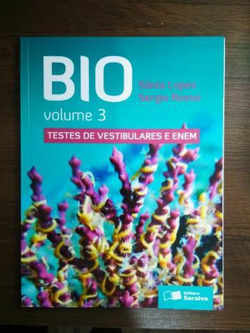 Livros de Biologia Novos e Semi-Novos para Vestibular e Enem