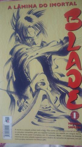 Mangá Blade a Lâmina do Imortal Vol. 1 ao 15 - Completo
