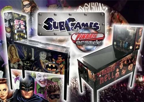 Pinball Digital Subgames Com 400 Mesas S/ Ficheiro