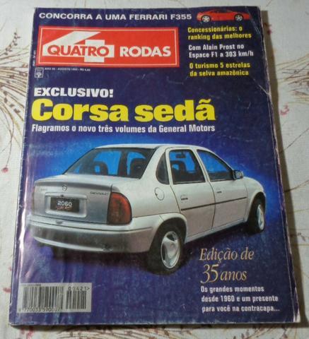 Quatro Rodas Agosto 1995