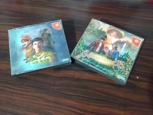Shenmue 1 E 2 Para O Dreamcast. Frete Grátis!