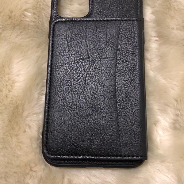 case com porta cartão e documentos para iphone 11 normal
