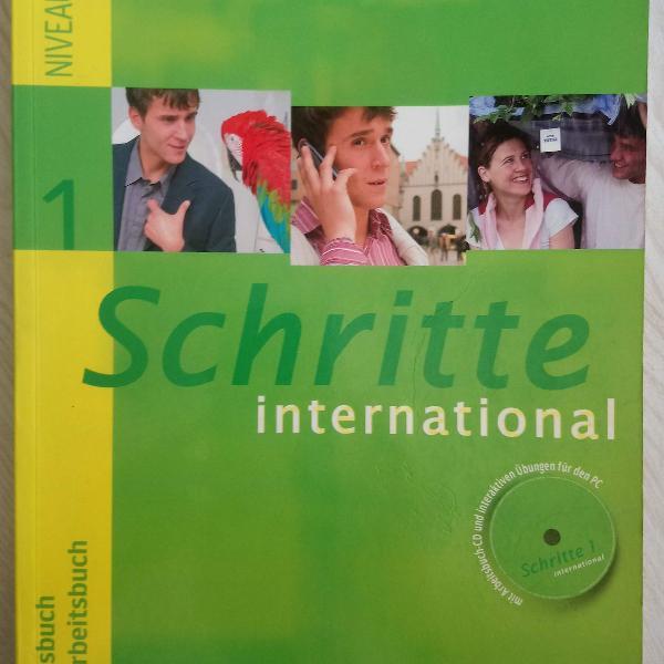 livro didático de alemão schritte international 1