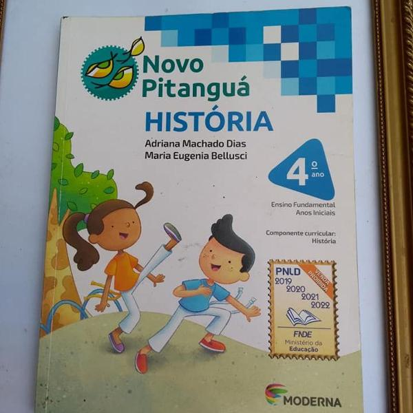 novo pitanguá história 4º ano
