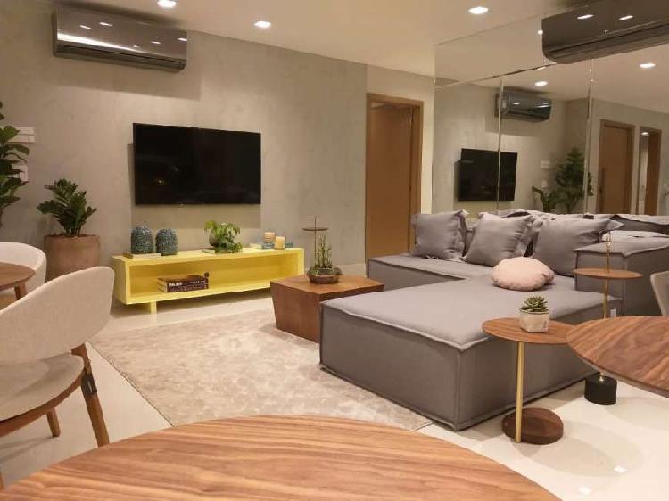 Apartamento com 125 m2 sendo 3 suítes no Setor Marista.