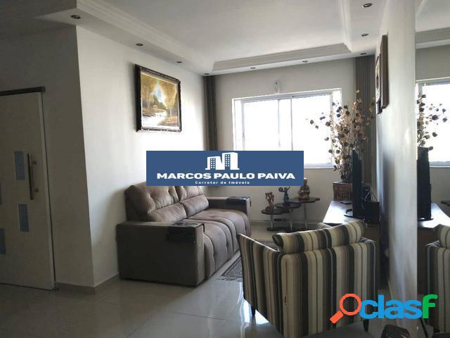 Apartamento em Guarulhos no Cravina com 69 m² 2 Dorms 1